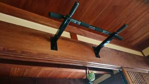 和室へ設置した懸垂バー