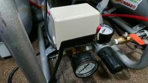 リョービACP-50の圧力スイッチ