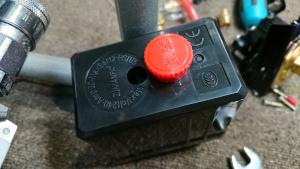 社外のコンプレッサー用の圧力スイッチ(プルタイプ)