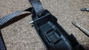 ブルーワーカーのベルト固定ピン